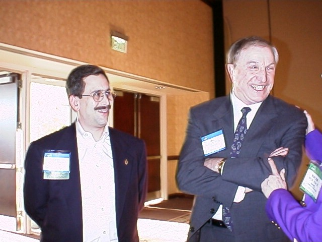 ASAE meeting planners sharing a laugh