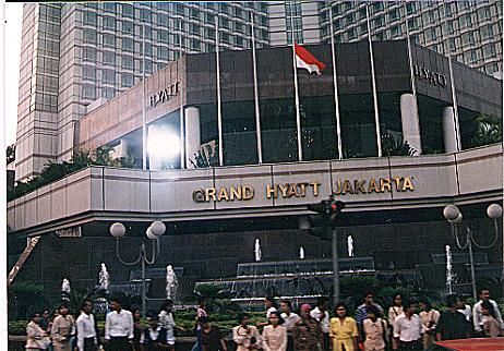 The Hotel where H-P Meeting was held